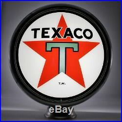 15 TEXACO Star Gas Pump Globe