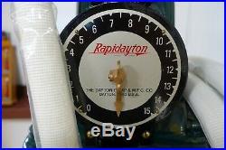 1916 Dayton 25 Rapidayton Previsible Hand-crank Gas Pump Restored to Texaco