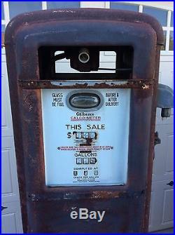 1930�s gilbarco 96c gas pump amoco esso mobil texaco shell
