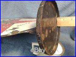 1938 Original Porcelain Texaco 15 Lubster/gas Pump Sign&bracket