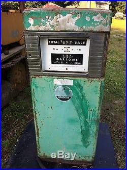 1950 S Wayne 505 Gas Pump Chevron Shell Esso Texaco Gulf