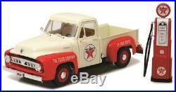 1953 Ford F-100 Pickup Texaco Edition 118 Scale Replica Model w Gas Pump 12991