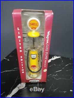 6 124 20s Gas Pumps Mobilgas, Shell, Texaco, Gulf, Pennzoil & John Deere Wayne