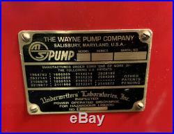 6 1950s Fully Restored Wayne Texaco Tall gas pump Lights Up & Has Internals