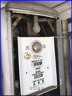 Antique Gas Pump Texaco