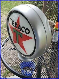 Authentic Wayne 866 Gas Pump Texaco Older Restoration