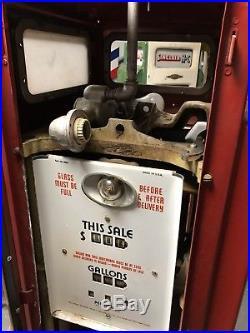 Bennet 541 Gas Pump. Power X, Sinclair, Flying A, Texaco