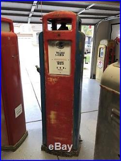 Bennet 541 Gas Pump. Power X, Sinclair, Flying A, Texaco, Richfield, Atlantic
