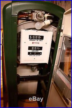 Bennett Antique Gas Pump 756 Series Texaco Sky Chief