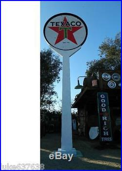 Brand New Banjo Sign Pole- Quality Workmanship Made in USA gas pump sign