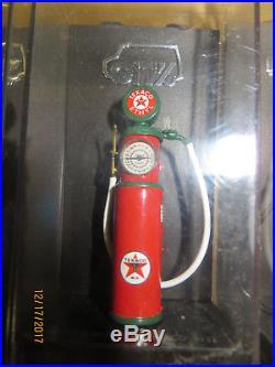 CITY 1/43 Qty 6 Scale Gas Pump TEXACO WAYNE, TOKHEIM, ERIE, BOWSER O Scale