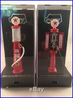 City Model 143 Scale Texaco Gas Pump Set of First 8