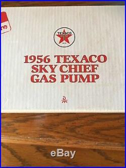 DANBURY MINT Diecast Rare 1956 NEW In BOX TEXACO SKY CHIEF GAS PUMP Certificat