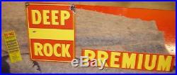 Deep Rock Gasoline Vintage Gas Pump Premium Not Mobil Shell Texaco Gulf