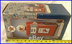 ENESCO TEXACO GAS PUMP Fire Chief Gasoline Cookie Jar limited Edition