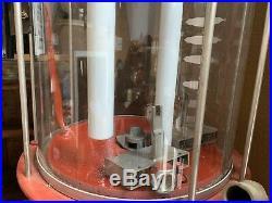 Fry Texaco Gas Pump Visible Glass