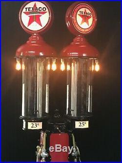 Gas Pump 1925 Clear Vision DOUBLE visible gas pump