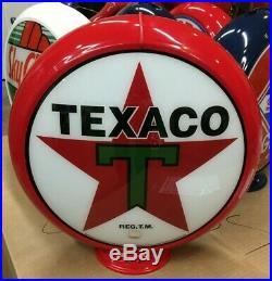 Gas Pump Globes / Licensed Texaco Gas Pump Globe / Petro / Texaco Gas Gas & Oil