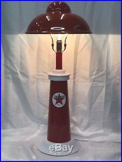 Gas Pump Station Island Light Lamp TEXACO