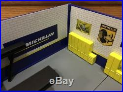 Michelin Service Station Decor Plastic Gas Pump Garage Oil Bar Ford Display