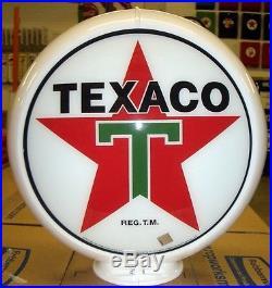 NEW TEXACO STAR REPRODUCTION GAS PUMP ANTIQUE OIL REPLICA FREE SHIPPING