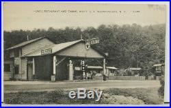 NH Hunts Restaurant Texaco Gas Pump Westmoreland Fro-Joy Coca Cola Postcard M7