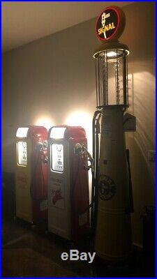 National A64 Gas Pump Texaco Fire Chief OR Shell Fresh Restoration A62