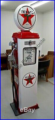 New Texaco Gas Pump Reproduction Antique Replica Retro Free Shipping