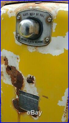ORIGINAL TOKHEIM 300 GAS PUMP 1950s Station Shell Gulf Texaco
