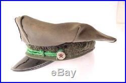 Old Vintage Texaco Service Station Gas Pump Attendant Hat ORIGINAL
