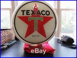 Original Texaco 1940's Gas Pump Globe- Pick-up Only, North Atlanta