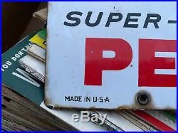 Original Texaco Sky Chief Su-preme Gas Pump Sign
