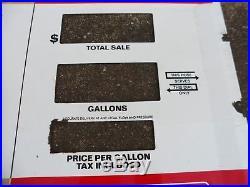 RARE 25 Texaco Sky + Fire Chief gas pump plate Porcelain Oil Gas Sign Bennett