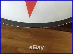 Rare Original Glass Gas Pump Globe One (1) Lens TEXACO REG. T. M. Marked C