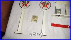 Rare Texaco Buddy-l Promo Gas Staion-building Pumps-rack Signs Oil Cans Tires Ex