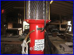 Restored Visible Gas Pump, no reserve, Texaco