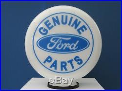Retro Gas Pump Globes XL Gasoline Style Petrol Pump Selection- Free Globe Seal