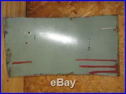 Sky Chief Texaco Gasoline 1955 Metal Gas Pump ADVERTISING-SIGN