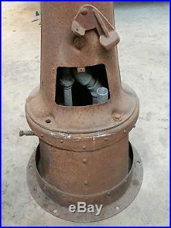 Solid Original Fry Visible 5 Gallon Gas Pump 17R Guarantee Mae West Texaco Mobil