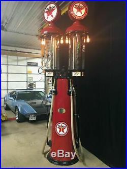 TEXACO 1925 Clear Vision GAS PUMP Double Visible