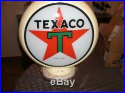 TEXACO GAS PUMP RING GLOBE, Circa 1980's