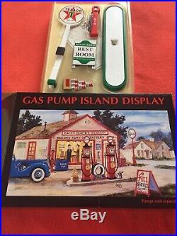 TEXACO Gas Pump Island Display New