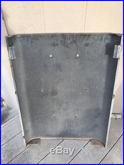 TEXACO Sky Chief Porcelain Gas Pump Plate Sign 1962 Original AO Smith 483 Panel
