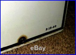 TEX-RIFFIC Vintage 1960 Texaco Fire Chief 2 Gas Pump Porcelain Enamel 18 Signs