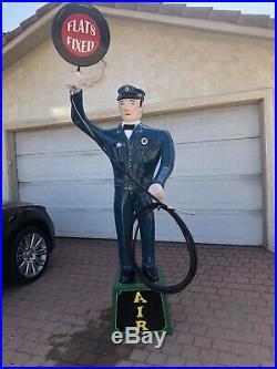Texaco Air Man Gas Station Air Pump