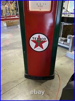 Texaco Bennett Gas Pump, Gas Pumps, Gas Pump Globes, Gas And Oil