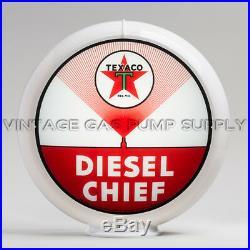 Texaco Diesel Chief 13.5 Gas Pump Globe (G193) FREE SHIPPING U. S. Only