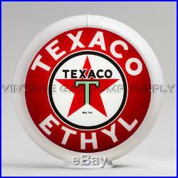 Texaco Ethyl 13.5 Gas Pump Globe (G194)