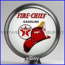 Texaco Fire Chief 13.5 Gas Pump Globe with Steel Body (G195)