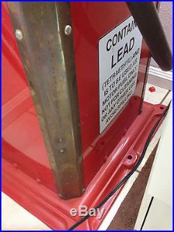 Texaco Fire Chief Gas Pump Bowser Time Sentry Clockface